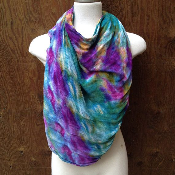 Check out this item in my Etsy shop https://www.etsy.com/ca/listing/254260287/unique-ice-dyed-purple-blue-yellow