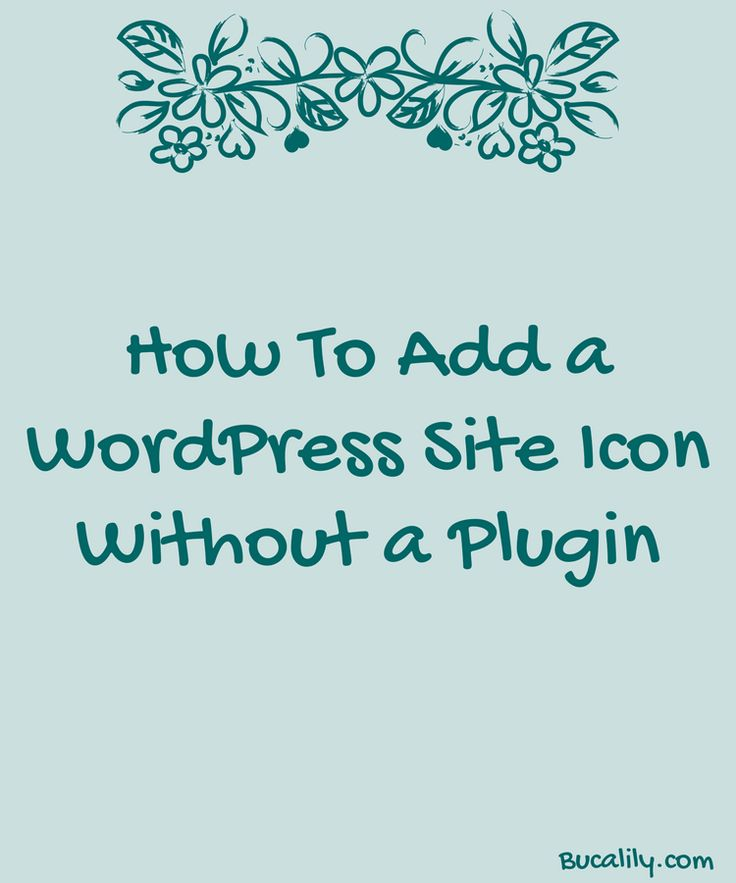 A Site Icon is the small image on the left hand corner of a browser tab. If you use a bookmarks toolbar, it is also the image in your bookmarks. Most themes come with a generic Site Icon, so you may want to personalize it for your site. In the past, you needed a plugin to add a Site Icon to your site, but WordPress now includes it as a built-in feature. I am going to show you how to add a site icon to your site AND how to make that image super-quick using Canva.