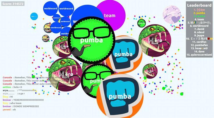 ╠╣ëŗø nickname agario pvp server score agarabi.com nickname ╠╣ëŗø - Player: ╠╣ëŗø / Score: 314572