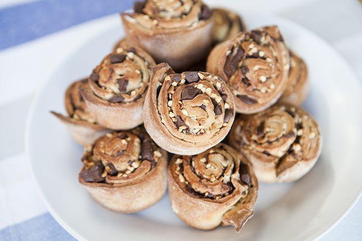 Kenwood's Chocolate & Hazelnut Swirls