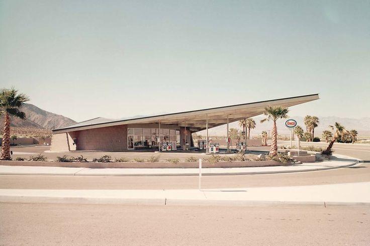 Photographies De Stations-service Des Années 60