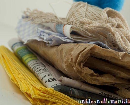pacchetti riciclosi** dal blog Un'idea delle mani