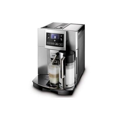 Bei der ESAM 5600 Perfecta, ein Kaffeevollautomat von DeLonghi mu&szlig,  kein Gast lange auf seinen Cappuccino, Espresso oder Kaffee warten, dank der praktischen Tipptasten f&uuml, r alle Funktionen. Praktisch ist die M&ouml, glichkeit, die Maschine sowohl mit Kaffeebohnen als auch Kaffeepulver zu betreiben. Das integrierte Kegelmahlwerk mahlt inidviduell in 13 Gradeinstellungen und arbeitet dabei besonders leise.