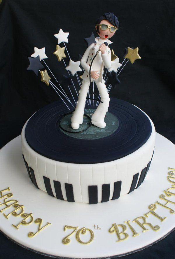 Elvis Cake by Verusca.deviantart.com on @deviantART