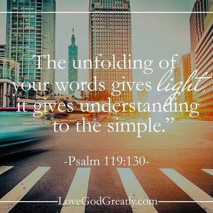 Psalm 119:129-132