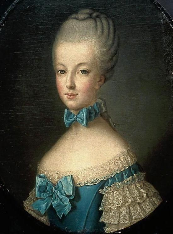 Maria Antonia, future Queen of France (1769, Joseph Ducreux)
