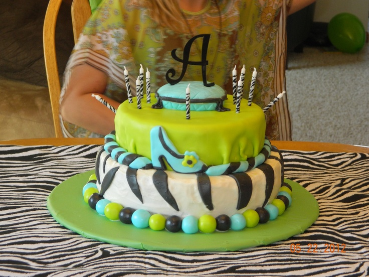 Cake I Made For An 11 Year Old Girl S Birthday Stuff I