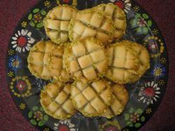 Pistache- koekjes