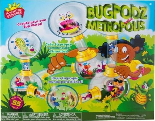 Bug Habitat Science Kit Insect Collect Outdoor Learning Toy Age 5 UP 50 PC City