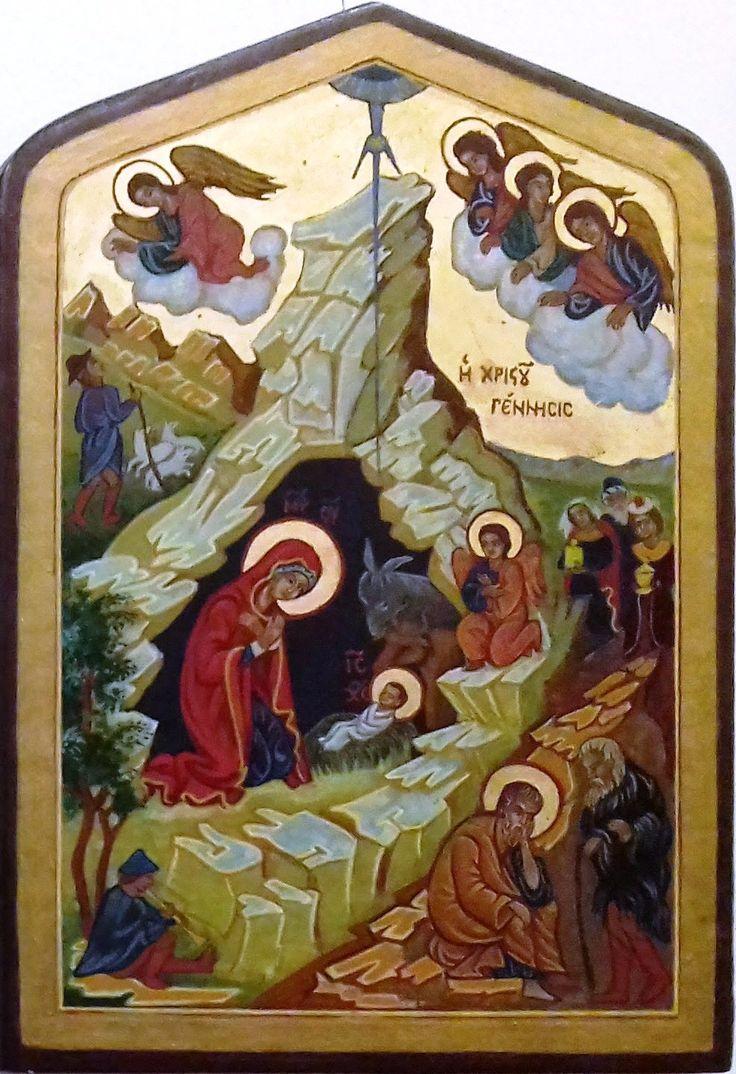 Krisztus születése Görögország XVI. század