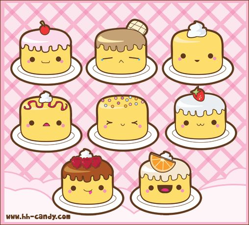 Yummy Mini Angel Food Cakes by A-Little-Kitty.deviantart.com on @deviantART