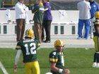 cool 10 years ago today, I got to see my first (and only) game at Lambeau. This is my favorite picture, even if it's a bit fuzzy.