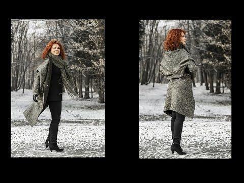 Jak uszyć kardigan sweter bez wykroju by Słonecznaradzi.pl / How to make...
