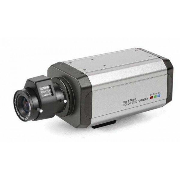 Standard Box Camera SONY CCD Iris control: DC / VIDEO With RS485 Size: 110(W)x45(H)x55(D)mm Weight: 0.4kg