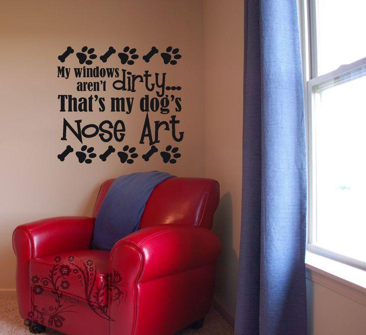 Dog Wall Decor 288 best vinyl wall art images on pinterest | vinyl decals, vinyl