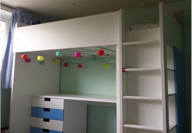 Best 25 stuva loft bed ideas on pinterest corner beds for Teenage bunk beds ikea