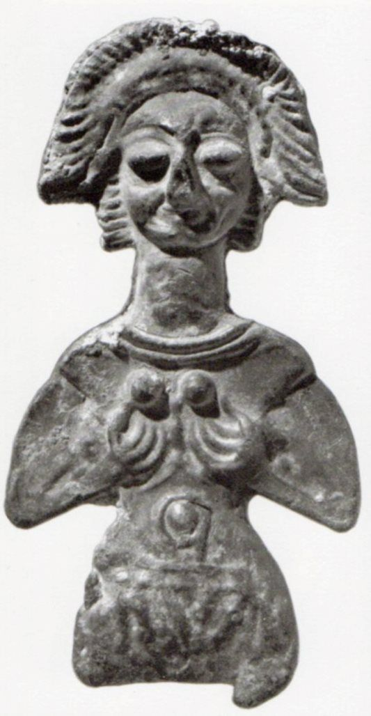 Hettite, metal figures,Goddess, Kültepe Kaniş (Kurt Bittel) (Erdinç Bakla archive)