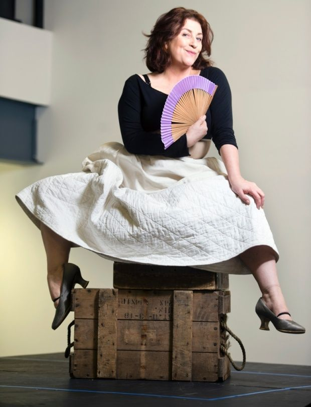 Caroline Quentin in TheLife and Times of Fanny Hill