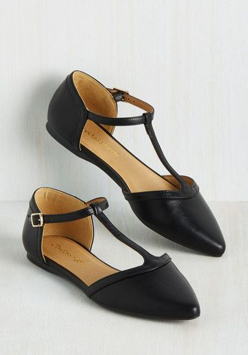 1920s T strap flat shoes. Also a 1960s shoe style.