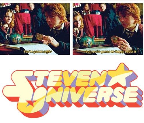 Steven Universe in a Nutshell My two fab things harry potter and steven universe
