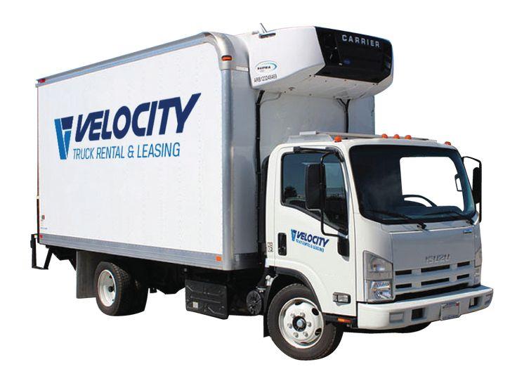 16 refrigerated truck trucks rental trucks for sale