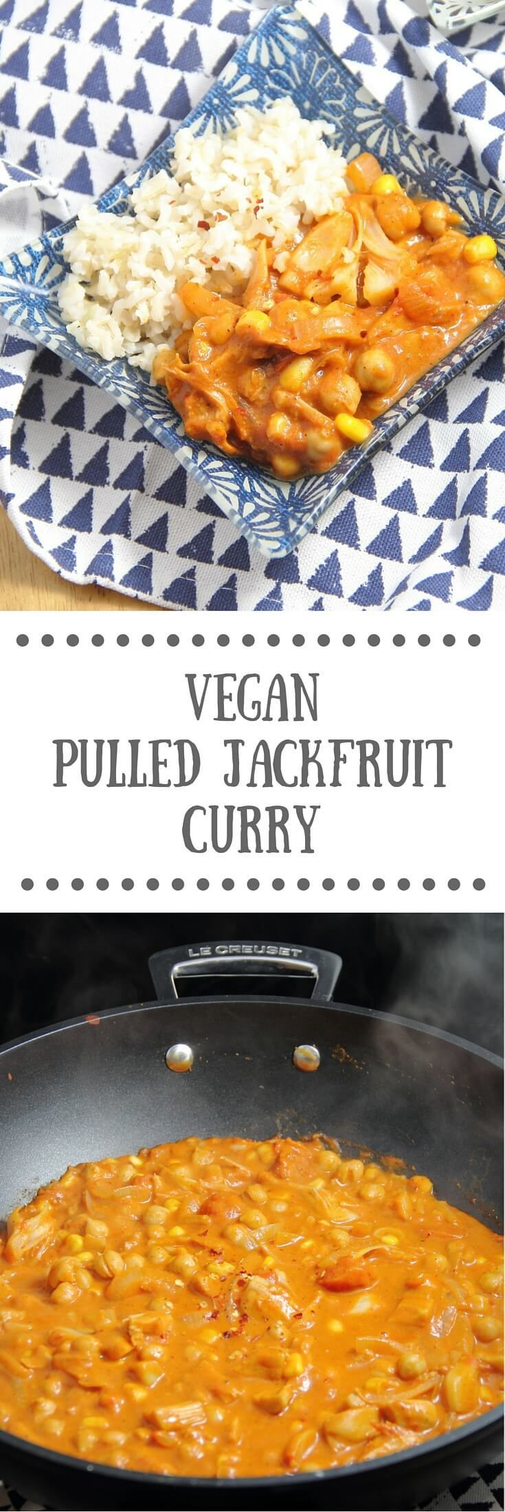 Pulled Jackfruit Curry - Vegan Recipe
