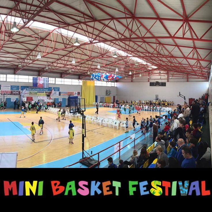 Η RAINBOW WATERS βρέθηκε ξανά στο Διεθνές Φεστιβάλ Μίνι Μπάσκετ στηρίζοντας τη διοργάνωση και τους μικρούς της πρωταγωνιστές!
