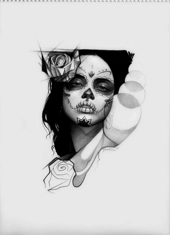 Santa Muerte by anonymtat2.deviantart.com on @DeviantArt