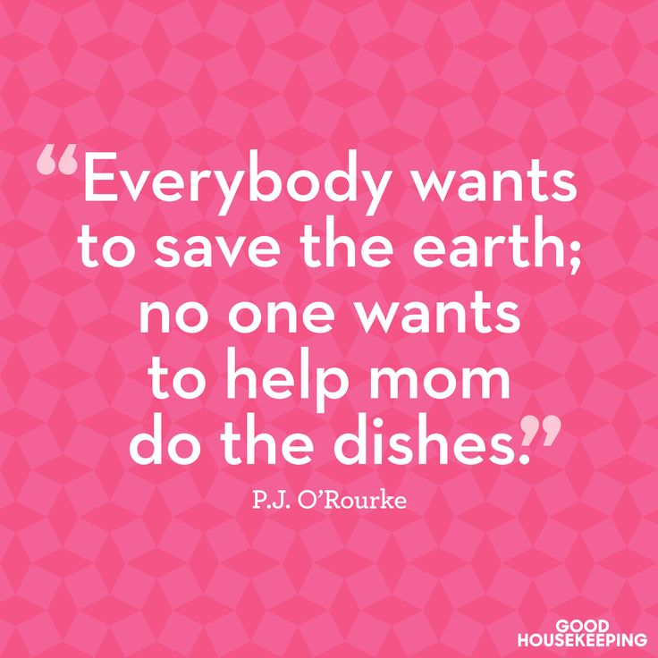 This cleaning quote describes  every mom's feeling as she scrubs her family's dirty dishes.