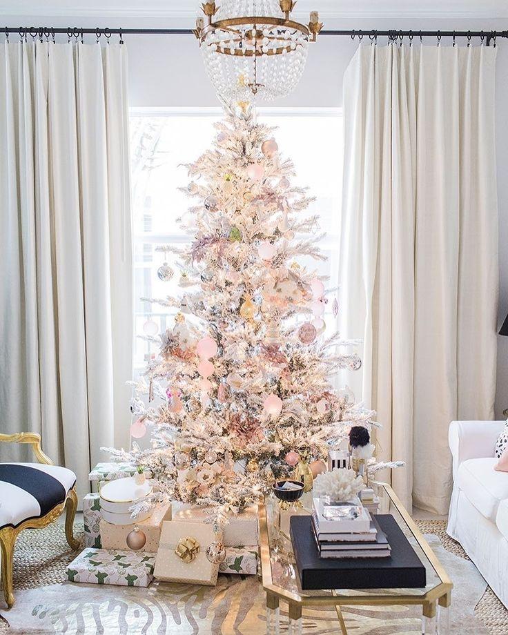#Новый_год в цветах #нюд, #розовое_золото и #перламутр - #элегантность, легкость и #уют! Дизайн @palmbeachlately #decoration #galleria_arben