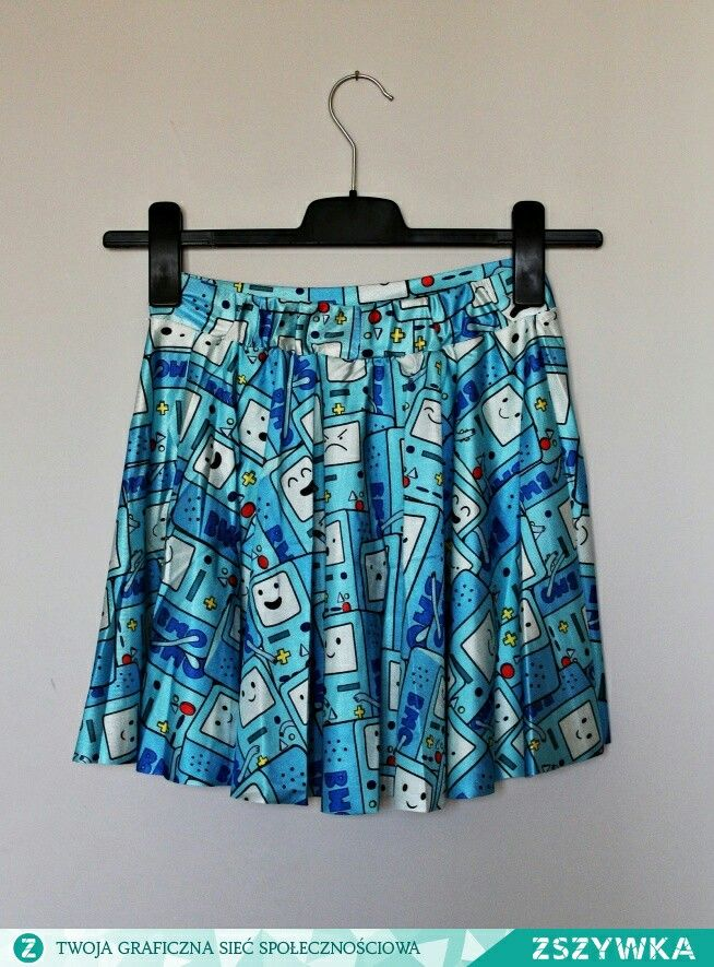 Trendy mini skirt, women's fullprint of 3D printing in a pattern BMO
