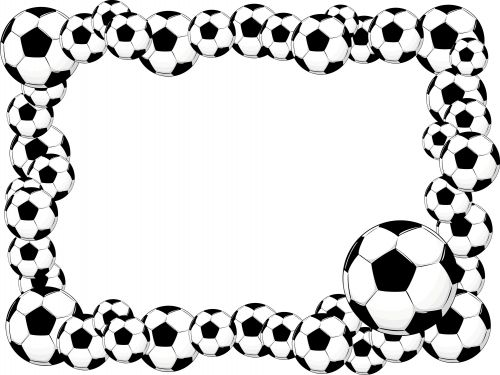 GIVEAWAY with this page!!  ENTER NOW. *limited time* This printable soccer clipart paper frame is ideal for your World Cup invitations, scrapbook page or as a picture frame matte! Simply print and trim!