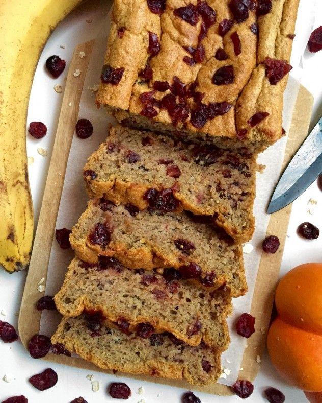 Cake aux Cranberries façon Quatre-Quarts (banane-potiron) – The Fit Feline