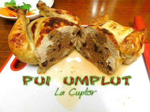Pui umplut dezosat la cuptor | Pollo Relleno al horno (CC Esp Sub) | Anyta Cooking - YouTube