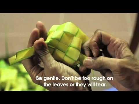 Ketupat Weaving Tutorial