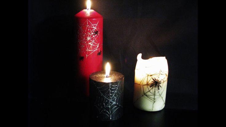 Jak zrobić świece na Halloween - Pomysły plastyczne dla każdego
