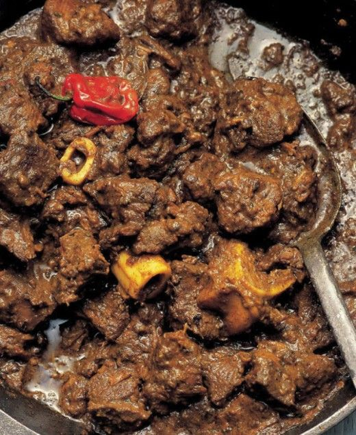 JAMAICAN GOAT CURRY: No Jamaican party would be complete without this dish  #Jamaican #goat #curry
