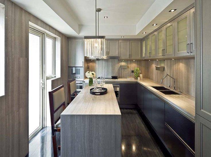 cocina rectangular preciosa clsica - Cocinas Rectangulares