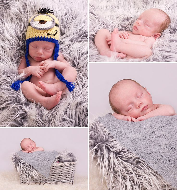 Newborn photography baby photography props baby boy minion cute www