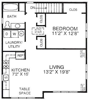 53 best garage apartment plans images on pinterest for Garage studio apartment plans