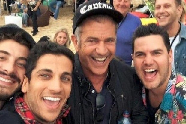 MEL GIBSON IS ON TRACK WITH HIS NEW FILM AND FELLOW ACTORS
