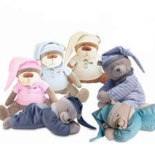 BabyStuf.nl - Doodoo beer knuffel met baarmoedergeluiden
