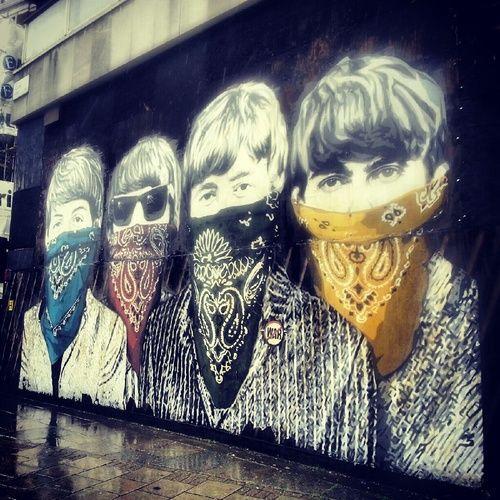 LONDON STREET ART: Old Sorting Office, Museum Street, London WC1 #streetart #street art #graffiti