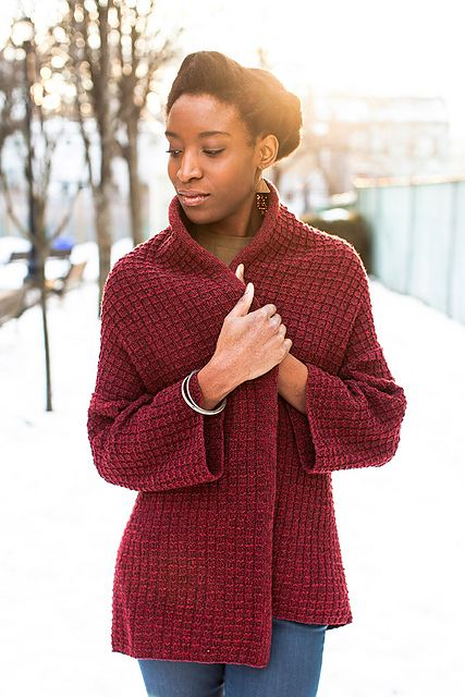 From BT Winter 13 - Stowe cardigan by Michele Wang