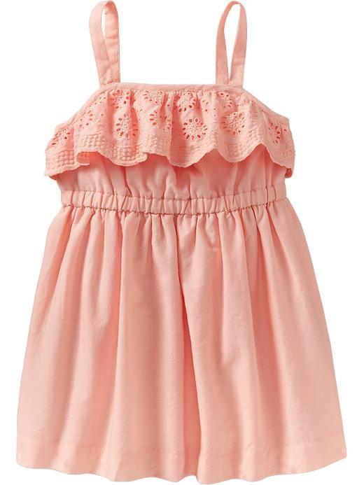 Old Navy | Eyelet-Ruffle Sundresses for Baby