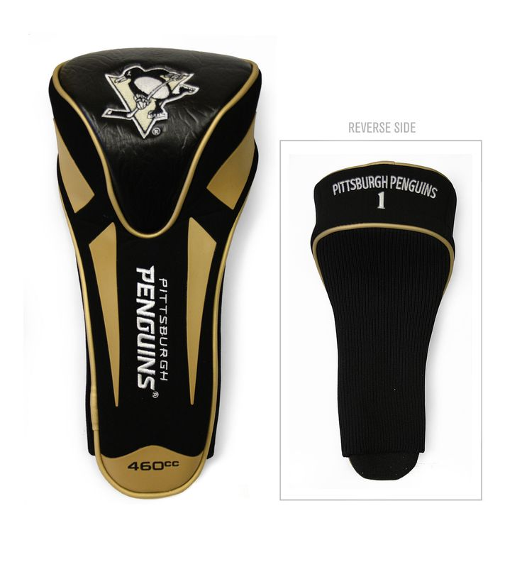 Team Golf Pittsburgh Penguins Single Apex Driver Head Cover