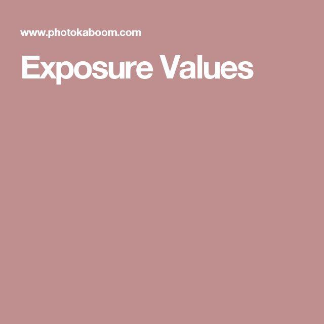 Exposure Values