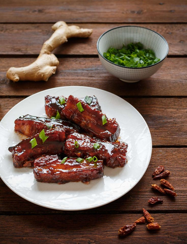 Asian style sticky glazed pork belly is the quintessence of umami flavour. Ginger and chilli gives it the spicy kick.
