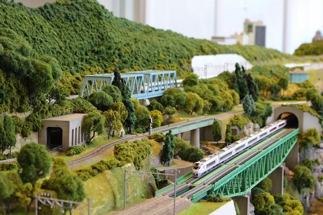 """Hobby Center KATO"" is flagship shop by the train model maker KATO."