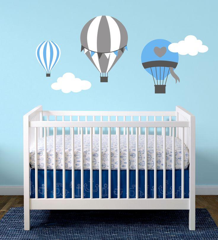 Uçan Balonlar Bebek Ve Çocuk Odası Duvar Sticker Fiyat: 64 TL